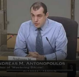 Andreas Antonopoulos Discusses Bitcoin with Canadian Senate