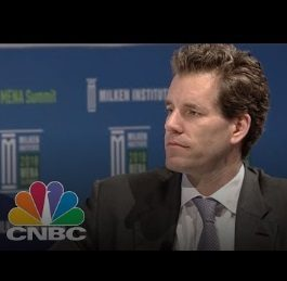 Bitcoin 40x Potential and Beyond | Gemini Exchange's Cameron Winklevoss | CNBC