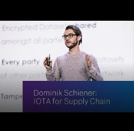 IOTA for Supply Chain Presentation | Dominik Schiener