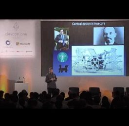 Nick Szabo Presentation Devcon One | History of the Blockchain