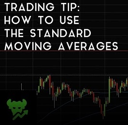 Trading Tip 1 How To Use The Standard Moving Averages SMA | DataDash