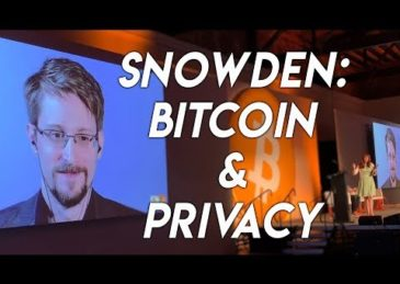 Snowden: Privacy and Bitcoin, at Bitcoin 2019 Conference