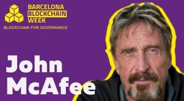 John McAfee Speech | Barcelona Blockchain Week 2019