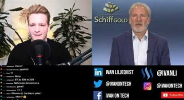 Bitcoin vs Gold | Ivan on Tech debates Peter Schiff