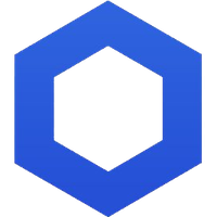 Chainlink Icon Logo Transparent