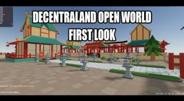Decentraland Open World First Look | BlockDecentral