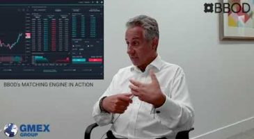BBOD's High Performance Matching Engine Explained by Tony Harrop, CIO & Director of GMEX