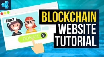How to Build a Blockchain Website Video Tutorial