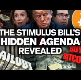 US Stimulus Bailout, Bitcoin and Cryptocurrency