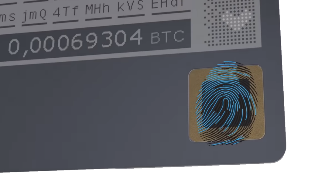 Biometric Hardware Wallet HASHWallet