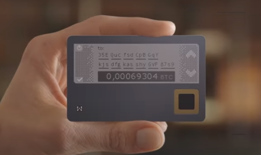 HASHWallet Card screen picture