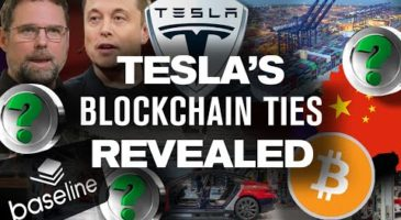 TESLA Blockchain and Cryptocurrency Ties