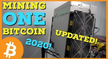 How long does it take to mine 1 Bitcoin?