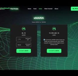Single Asset Staking | How to earn xMARK tokens using Benchmark Protocol