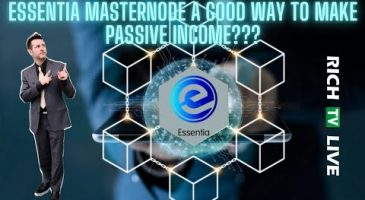Essentia is a Masternode Powered Blockchain | Using defi to earn passive income
