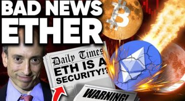 Ethereum Has BAD NEWS!? SEC to Classify As Security? Chico Crypto